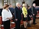 Dagmar Havlová, Livia Klausová, Václav Klaus, Kateřina Zemanová, Ivana Zemanová...