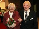 Manželé František a Jarmila Galasovi oslavili na obecním úřadě Ostrava Jih 70.