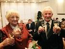 Platinovou svatbu stvrdili na obecním úřadu Ostrava Jih