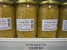 Třeba toto kysané zelí pochází od výrobkyně z Hulína na Kroměřížsku.