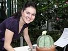 Cukrářka Markéta Krajčovičová má 3D dort v podobě kaktusu připraven ke