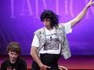 Igor Chmela jako Michael Jackson