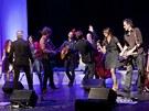 Z koncertu Wabi a Ďáblovo stádo, Praha, Švandovo divadlo 1. března 2013