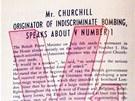 Pokud byla fakt na straně Němců, mohla být jejich propaganda i textově upovídanější. Leták o hrozbě V1 prezentuje přesná čísla a cituje Churchilla.