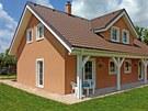 Konstrukce domů společnosti MS HAUS je kombinací lehkých stěnových panelů s