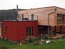 Typový dům MODULA 139 od firmy ECOMODULA je řešen jako dva stejné půdorysy,