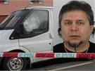 Policie pátrá po Jánu Bakalárovi, který byl podle ní jedním ze tří mužů, kteří