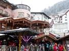 Apres-ski v centru Ischglu