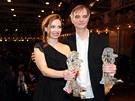 Gabriela M��ov� a Ivan Trojan