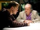 Leonadro DiCaprio a Jack Nicholson ve filmu Skrytá identita (2006)