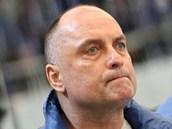 NÁVRAT. Trenér Vladimír Kýhos se na play-out vrátil na lavičku hokejistů Komety