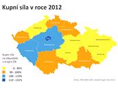 Kupní síla 2012