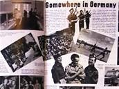 """Další pozvánka do zajateckých táborů """"někde v Německu""""."""