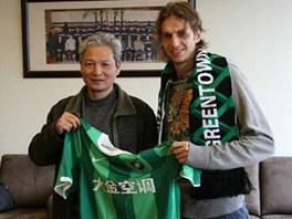 Marek Jarolím (vpravo) si vyzkouší čínskou ligu.