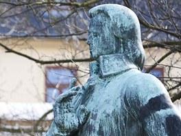 Mozartova socha v Teplicích by se dala s nadsázkou označit za připomínku