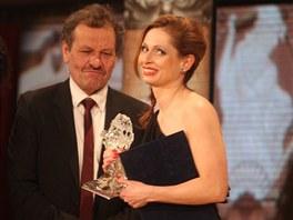 Českého lva za hlavní ženský herecký výkon převzala Gabriela Míčová (2. března