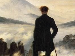 Caspar David Friedrich: Poutník nad mořem mlh (1818). Caspar David Friedrich
