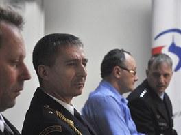 Záchranáři ocenění za pomoc při výbuchu ve Frenštátě pod Radhoštěm. Na snímku