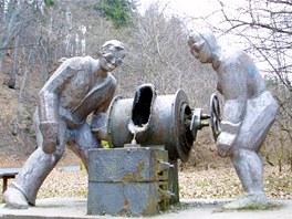 Slévači v Třemošnici.