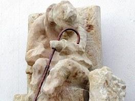Cimrmanova socha v Letohradě