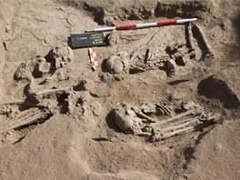 Kosterní pozůstatky z 8.–6. tisíciletí př. Kr. v súdánském pohoří Sabaloka.