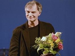 Herec Ivan Trojan převzal 3. března v Praze Cenu Alfréda Radoka za rok 2012 v