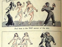 Legenda o Paridovi v lehce erotick� komiksov� metafo�e o v�lce.  Lekce pro...