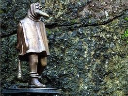 Skřítek Gottstein, vládce všech skal, kamenů a podsvětí na Loketsku má ve své