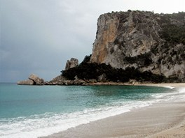 Pláž Cala Luna, podle mnohých nejhezčí v Evropě, jsme měli jen pro sebe...