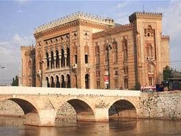 Nejvýraznějším sarajevským dílem Karla Paříka je budova někdejší radnice,