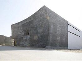 Galerie Czech China Contemporary (CCC) v Pekingu. Autorem je architekt Zdeněk