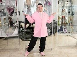 Stanley Colorite se svou sb�rkou panenek Barbie