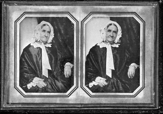 Daguerrotypický portrét Anny Nárprstkové, kolem roku 1885; ilustrace z kapitoly