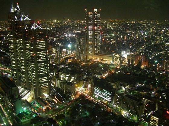 Tokio - když se setmí