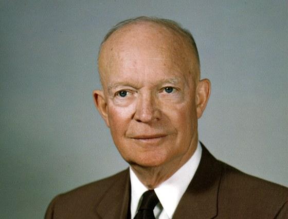 Generál Dwight David Eisenhower, známý též jako Ike, (14. října 1890 – 28.