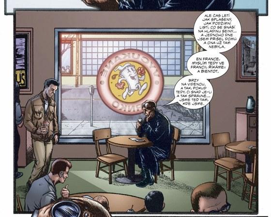 Ukázka z komiksu Banda 1: Karty jsou rozdaný (The Boys 1: Name of the Game)