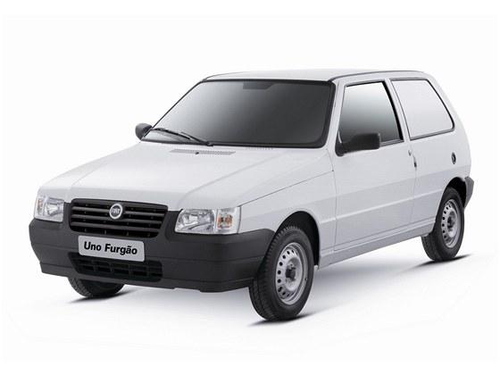 Fiat Uno v současné podobě určený pro brazilský trh