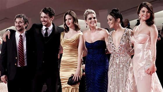 Harmony Korine, James Franco, Vanessa Hudgensov�, Selena Gomezov�, Rachel