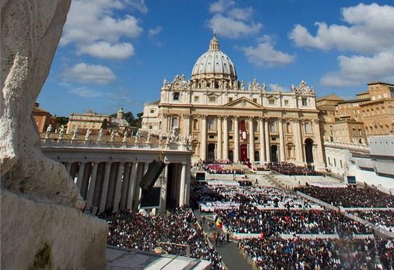 Inaugurace papeže Františka ve Vatikánu (19. března 2013)