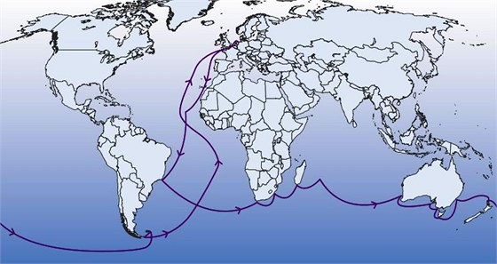Trasa výzkumné plavby Univerzity Palackého a nizozemských námořníků začne v