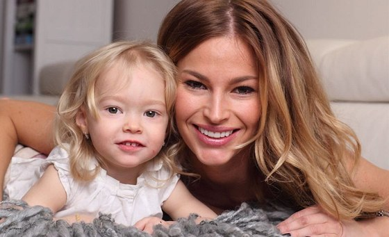 Petra Svoboda s dcerou