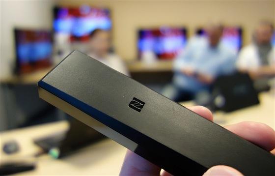 Některé ovladače Sony budou vybavené technologií NFC - pokud jím dotknete svého