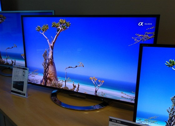 I Sony bude mít v řadě 2013 stříbrné televizory.