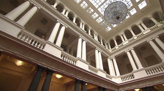 Na stavbě budovy bulharského parlamentu se významně podílel i Josef Prošek,