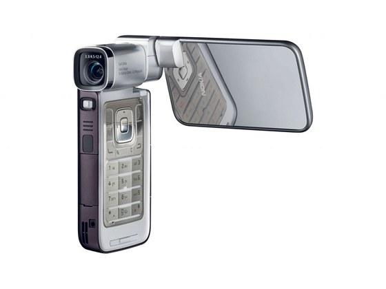 Nokia N93i byla vylepšenou verzí kameromobilu N93, nový byl především
