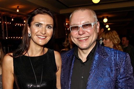 Michaela Maláčová a Zdeněk Bakala (2012)