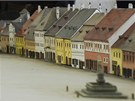 Původně chtěl modelář ztvárnit náměstí před požárem v roce 1822, ale nepodařilo...