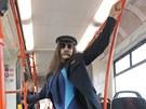 Natáčení videoklipu tance Harlem Shake v tramvaji brněnského dopravního podniku