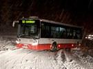 Sněhová kalamita v Brně a okolí.