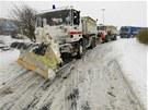 Přívaly sněhu trápí i Paříž a mnoho dalších regionů Francie.